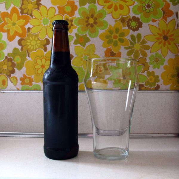 Double Barrel Stout aka The Beerskey, Bottled