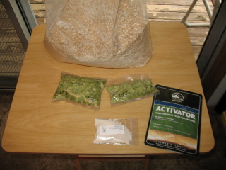 Grains, Hops, Yeast, and Brew Salts