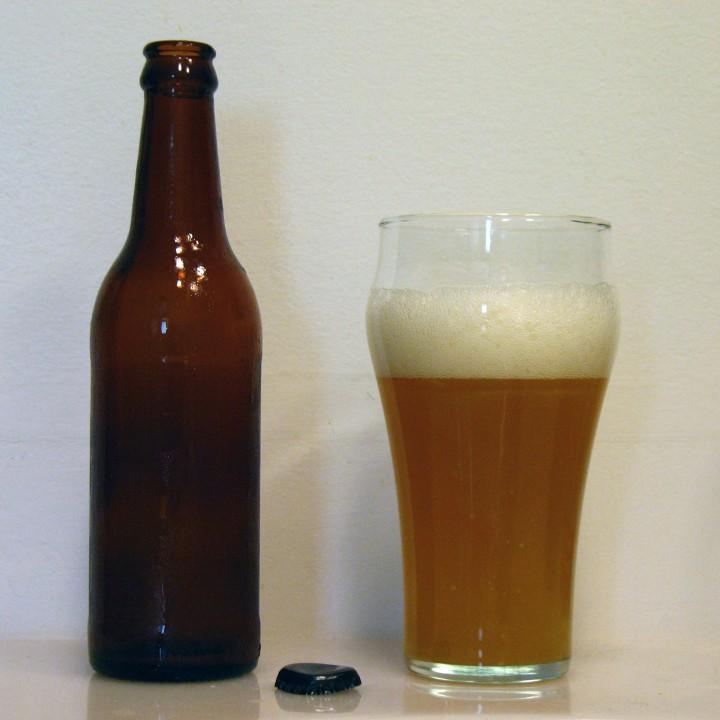 Sorghum Beer Poured
