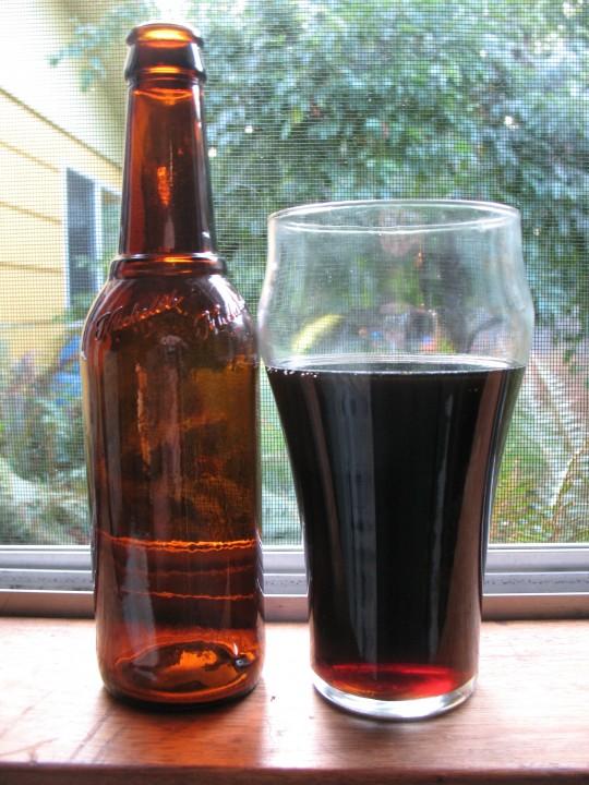 Black Beaut Porter in Window 2